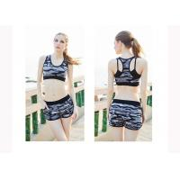 Buy cheap Dance Hollowed Back Womens Exercise Shorts , Women'S Active Shorts Nylon Material from wholesalers