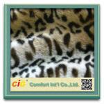 Buy cheap Leopard Plush Cat Toys / Garment Luxury Faux Fur Fabric , Artificial Fur Cloth Shrink-Resistant from wholesalers