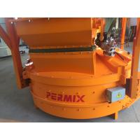 Buy cheap Mixer Capacity 250L Concrete Mixing Equipment PMC Low Gypsum Mixing Orange Color from wholesalers