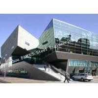 Buy cheap Aluminium Frame 4+12a+4 Tempered Glass Wall System Panel Unitized Curtain Wall product