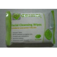 Buy cheap Women Facial Disposable Wet Wipes for acne prone or oily skin from wholesalers