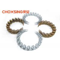 Buy cheap Galvanized 8 Ga Zig Zag Sofa Springs , 20'' Sinuous Steel Wire , Oil Tempered No Sag Springs from wholesalers