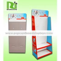 Buy cheap Tired POS floor display stand with metal hooks for stationery /kitchen ware etc from wholesalers