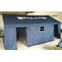 Buy cheap Blue Police Outdoor Canopy Tent High Temperature Resistant With Oxford Cloth from wholesalers