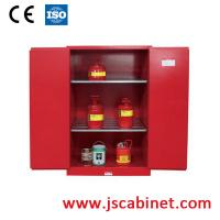Buy cheap 45 Gallon combustible liquid chemical acid storage cabinet/ cold roll steel from wholesalers