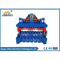 Buy cheap 10-15m/min Corrugated Sheet Roll Forming Machine , Corrugated Roof Roll Forming Machine from wholesalers