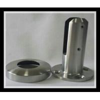 Buy cheap Stainless steel 316/316L round base plate glass spigot with polished or satin finish for glass pool from Wholesalers