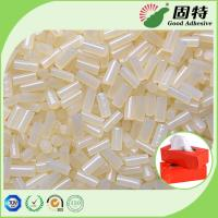 Buy cheap Tissue box  Sealing White Hot Melt Adhesive Pellets Ethylene Vinyl Acetate Copolymer from wholesalers