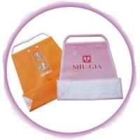 Buy cheap Customized Clothing Plastic Handle Bag Promotion Shopping Bags product