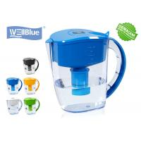 China Antioxidant High PH Alkaline Water Filter Jug , Plastic Wellblue Water Pitcher on sale