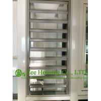 Buy cheap Hurricane-proof Aluminum Glass Louvered windows With Removable Screen,Jalousie louvre from wholesalers