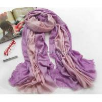 Buy cheap Lady Silk and Wool Jacquard Scarf Shawl  (5W-1416) from wholesalers