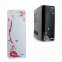Buy cheap Slim Tower PC Case with Seven Slots and ATX Power Supply from wholesalers