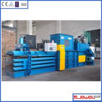 Buy cheap Leadership through professional hydraulic press 80ton waste paper automatic baler from wholesalers