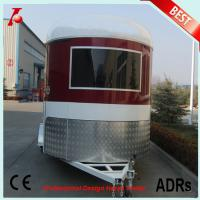 Buy cheap Chinese two horse trailer for sale,2 horse angle load trailer manufacturer from wholesalers