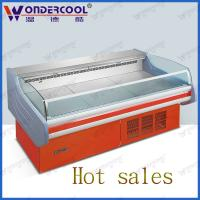 Buy cheap 2.5M supermarket deli display refrigerator commercial open meat display cases from wholesalers