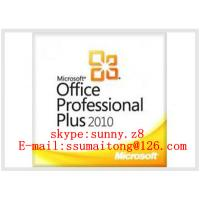 Buy cheap Business Office Utility Software, FPP or OEM key code Office Professional Plus 2010 from wholesalers