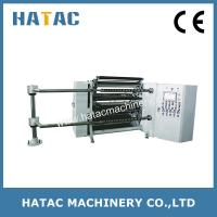 Buy cheap Offset Paper Roll Slitting Rewinder,Polyster Film Slitting Rewinding Machine,PVC Slitters from wholesalers