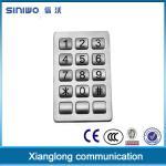 Buy cheap Hot sale product Waterproof Outdoor payphone metal keypad B29 from wholesalers