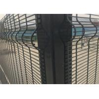 Buy cheap High Security Fence galvanized 358 Fence welded wire mesh panel fencing from wholesalers
