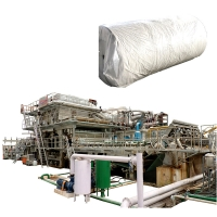 Buy cheap 1092mm 3T Toilet Mill Pulper Handkerchief Making Machine Cost Recycling Tissue Paper Production Line For Sale from wholesalers