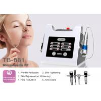 Buy cheap Micro Needle Fractional RF For Skin Tightening Anti wrinkle Frequency Machine from wholesalers