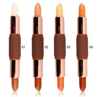 Buy cheap Double Ended Contour Stick Private Label Concealer DIA-1.9cm H-10.9CM Size from wholesalers