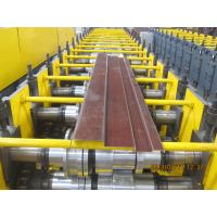 Door Frame Metal Forming Equipment Hydraulic Cutting / Roll Forming Machinery