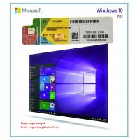 Buy cheap Windows Product Key Sticker Win 10 Pro OEM COA X20 Online Activate 64bit Windows 10 Professional from wholesalers