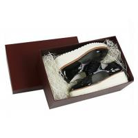 Buy cheap Ladies Drop Front Shoe Box , Custom Packaging Boxes Unique Design from wholesalers