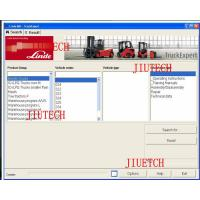 Buy cheap Instruction Manual Heavy Duty Truck Diagnostic Software Linde Diagnosis Tool Application from wholesalers
