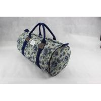 Buy cheap Custom Design Canvas Weekend Travel Bag , Ladies Luggage Bags For Outdoor from wholesalers