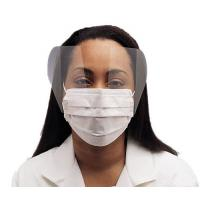 Buy cheap Fluid Resistant Medical Face Mask Single Use , Surgical Mask With Face Shield from wholesalers