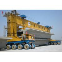 Buy cheap 600T Max Load Launching Gantry Crane Four Points Lifting / Three Points Suspending from wholesalers