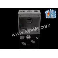 Buy cheap Electrical Boxes For Branch Circuit Wiring Aluminum Die Cast Weatherproof Box / Two Gang Electrical Outlet Box from wholesalers