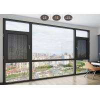 Buy cheap Anti Theft Double Glazed Sliding Doors Shock Resistant For Seal Balcony from wholesalers