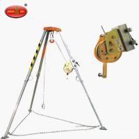 Buy cheap Mini Rescue tripod with Automatic brake device and Electric winch product