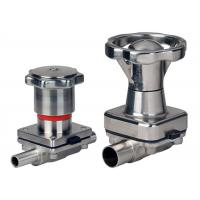 Buy cheap Pharmaceutical Manual Diaphragm Valve , Tri Clamp Diaphragm Valve Intelligently Designed from wholesalers