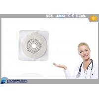 Buy cheap Max Cut 45mm Hydrocolloid Flange Ostomy Bag With Tape Around Baseplate from wholesalers