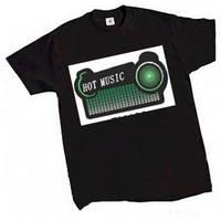 Buy cheap 2012 Sound activated EL t shirt from wholesalers