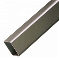 Buy cheap Mill Finished Round Corner 0.7mm Aluminium Rectangular Tube from wholesalers