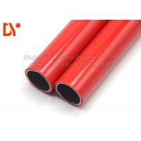 Buy cheap Red Color Plastic Coated Pipe Anti Corrossion 28mm Diameter Long Service Life from wholesalers