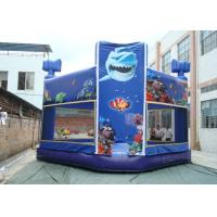 Buy cheap Indoor or Outdoor Commercial Grade Bouncy Castle / 0.55MM PVC Inflatable Bouncer from wholesalers