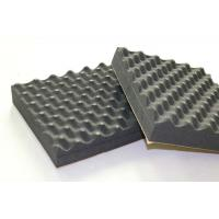 Buy cheap Black Recording Studio Acoustic Foam Panels Soundproof Egg Crate EPDM 30mm from wholesalers