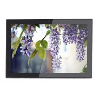 Buy cheap 10 inch 1280*800 IPS Wall Flush Mount Panel RJ-45 /POE support Ethernet wifi Android OS Rooted Advertising display from wholesalers