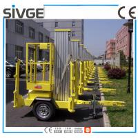 Buy cheap 630 * 650mm Platform Mobile Elevating Work Platform 8 Meter For Auto Stations from wholesalers