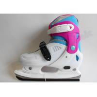 Buy cheap Girls Adjustable Ice Skating Shoes Hardboot Figure Ice Skates for Toddlers and Kids from wholesalers