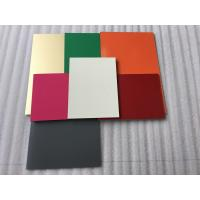 Buy cheap Easy Maintenance Aluminum Facade Panels , Composite Wall Cladding Panels product