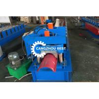 Buy cheap Color Steel Brick&Roman Tile Roll Top Ridge Cap Roll Froming Machine from wholesalers