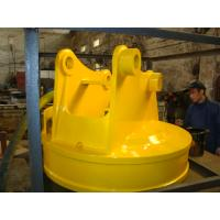 Buy cheap Excavator lifting magnet for lifting steel scrap from wholesalers